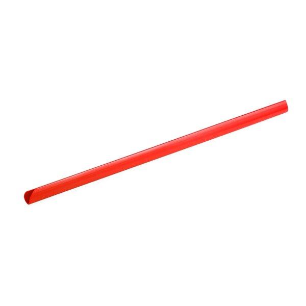 Top Office шини за подвързване, 10 mm, червени, 10 броя