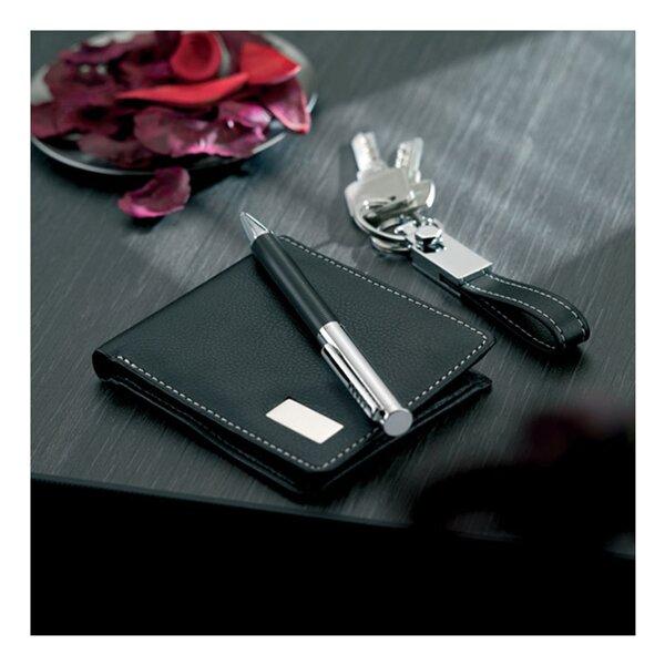 More Than Gifts Комплект Eleganci, химикалка, ключодържател и портфейл
