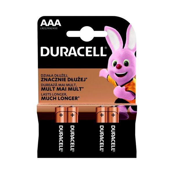 Батерия Duracell NEW BASIC AAA MN2400 K4 NOW 30/22/13