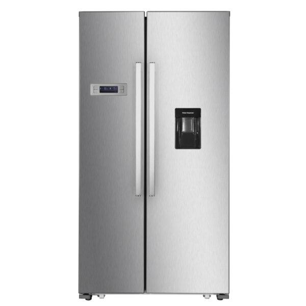 Хладилник с фризер Finlux SBS-959 , 514 l, A+ , No Frost , Инокс