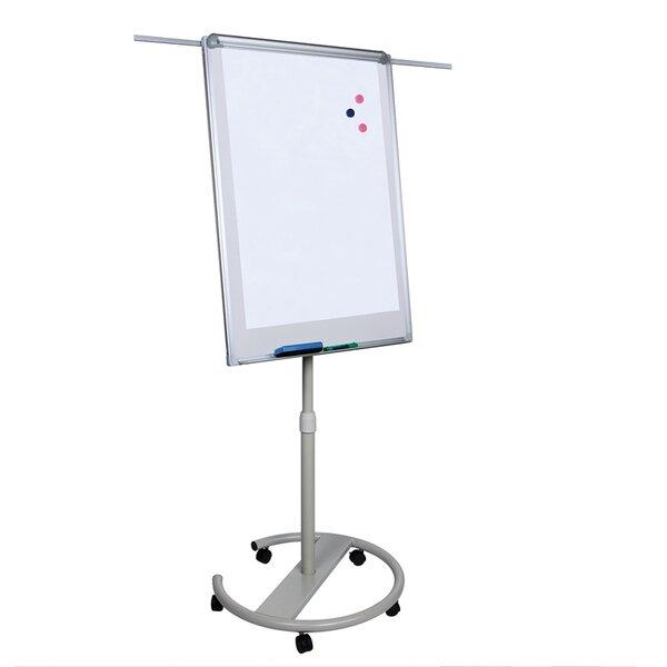 Top Office Флипчарт, 70 x 100 cm, магнитен, с рамена, на колела