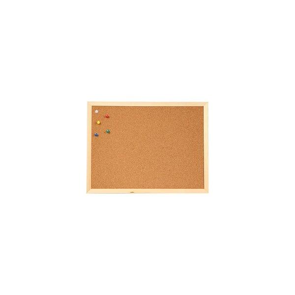 Office 1 Superstore Коркова дъска, с дървена рамка, 30 x 40 cm