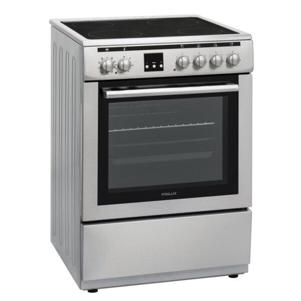 Готварска печка (ток) Finlux FLCM 6000A IX , INOX , Керамични