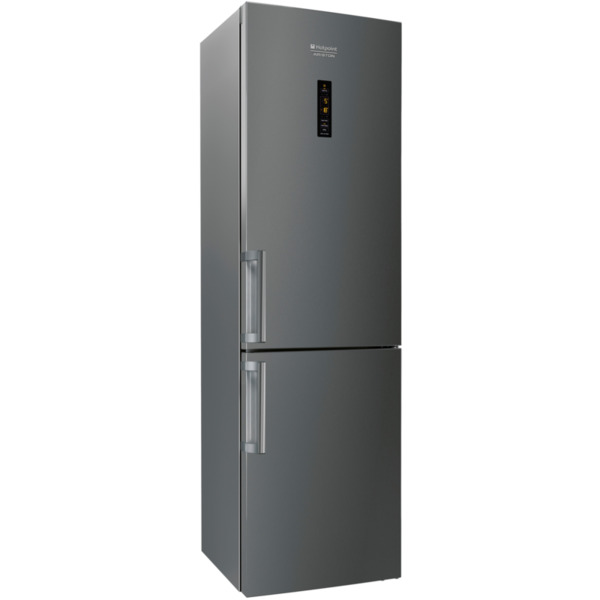 Хладилник с фризер Hotpoint-Ariston XH9 T2Z COJZH GRAFFIT , 364 l, E , No Frost , Антрацит