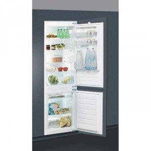 Вграден хладилник с фризер Indesit B 18 A1D/I , 275 l, A+ , Статична