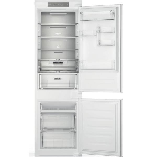 Вграден хладилник с фризер Whirlpool WHC18 T341 , 250 l, F , No Frost
