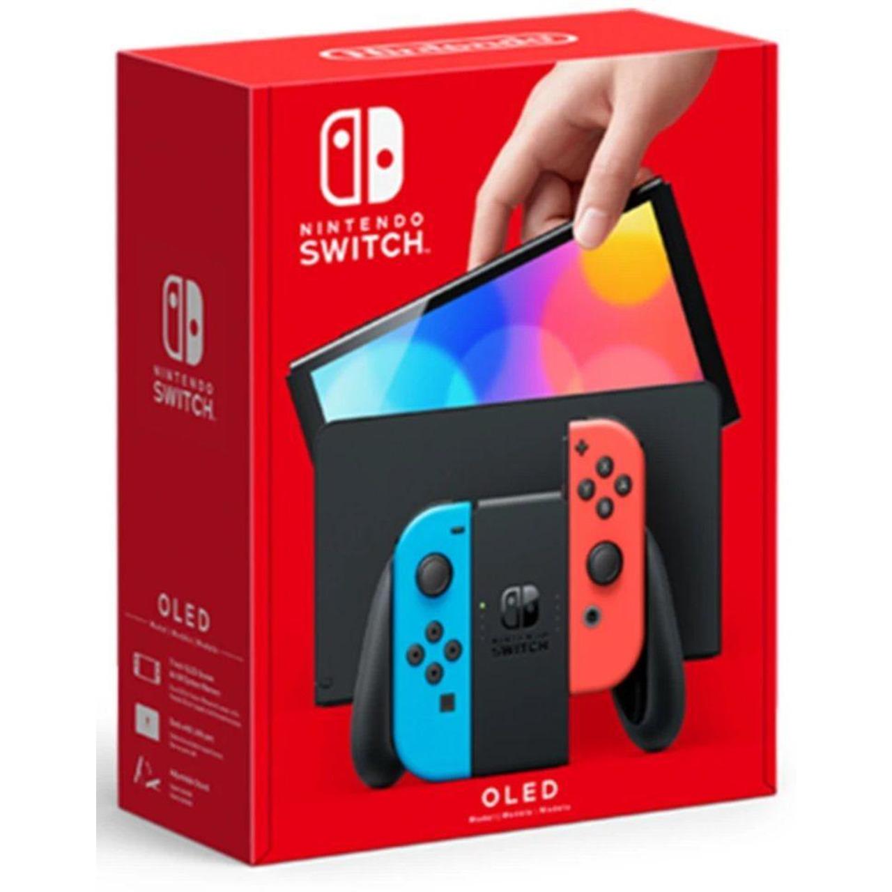 Конзола Nintendo Switch OLED (Red/Blue JOY-CON)