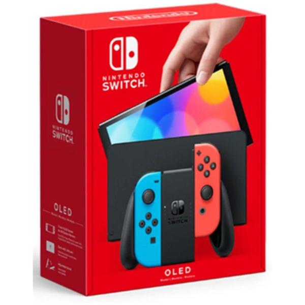 Конзола Nintendo Switch OLED (Red/Blue JOY-CON) , 1280x720p