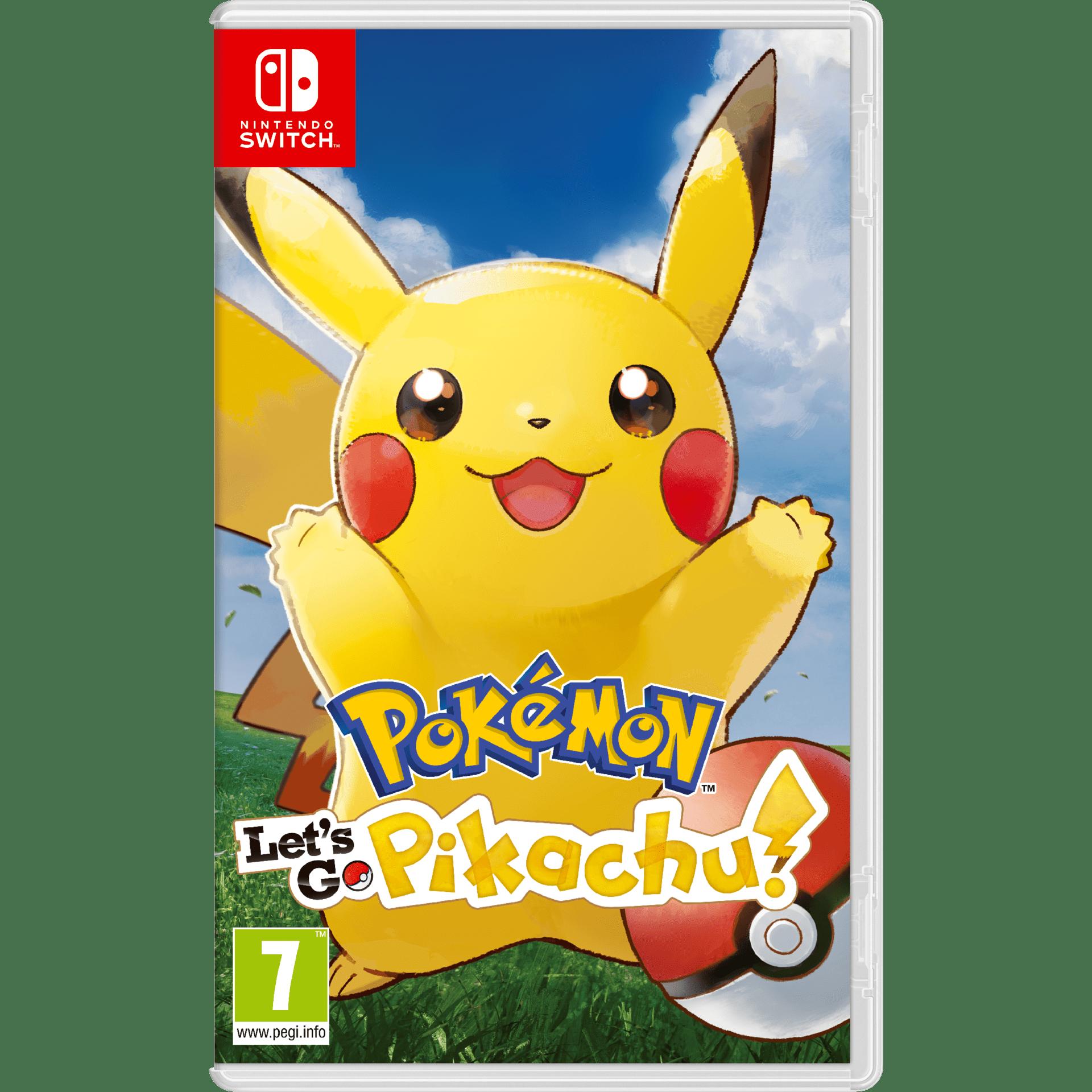 Игра Nintendo Pokemon Let's GO: PIKACHU  (NSW)