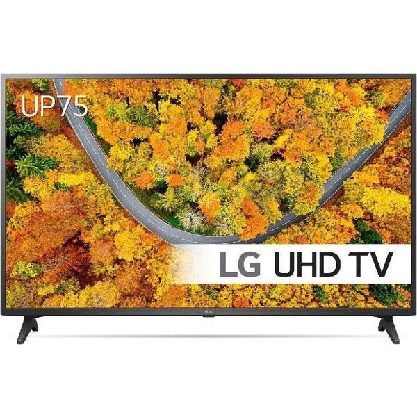 Телевизор LG 55UP75003LF , 139 см, 3840x2160 UHD-4K , 55 inch, LED  , Smart TV , Web Os