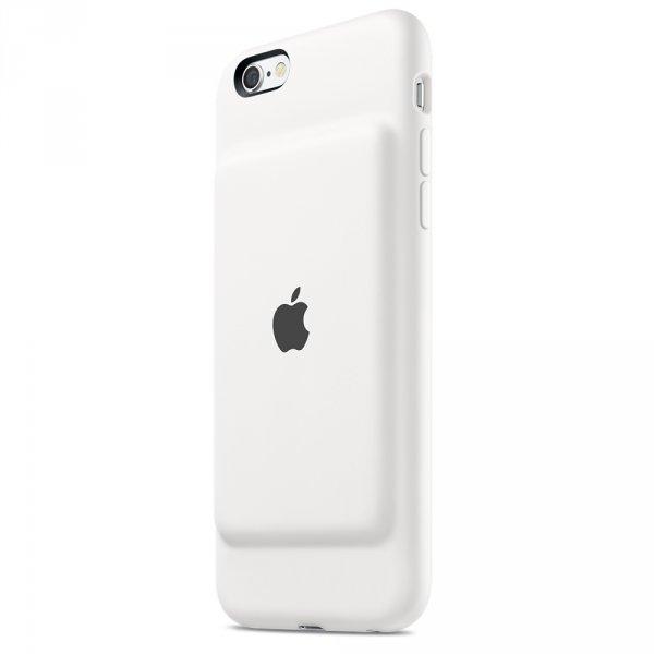 Калъф за смартфон Apple SMART BATTERY CASE-WHITE MGQM2ZM/A***