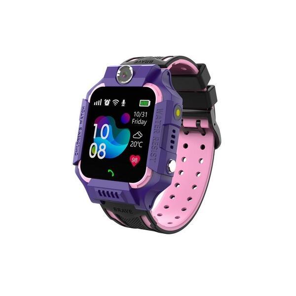 Смарт часовник Xmart KIDS KW02 Purple , 1.44 , RDA8955