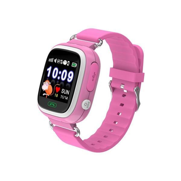Смарт часовник Xmart KIDS GPS KW03G Pink , 1.22