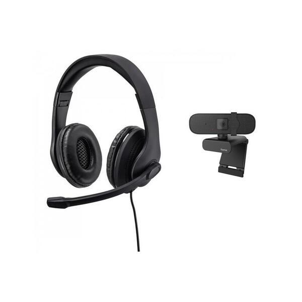 WEB камера Hama C-400 + слушалки HS-USB300 139999