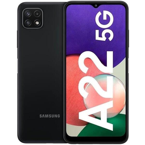 Смартфон Samsung GALAXY A22 5G DS GRAY SM-A226BZAV , 128 GB, 4 GB