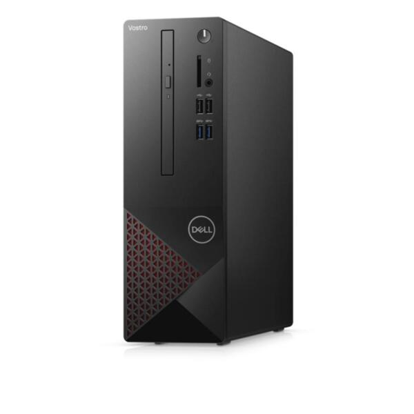 Dell Vostro 3681 SFF, Intel Core i7-10700 (8-Core, 16M Cache, 2.9GHz to 4.8GHz), 8GB, 8Gx1, DDR4, 2933MHz, 1TB HDD, DVD+/-RW, Integrated Graphics, 802.11ac, BT 4.0, Keyboard&Mouse, Win 10