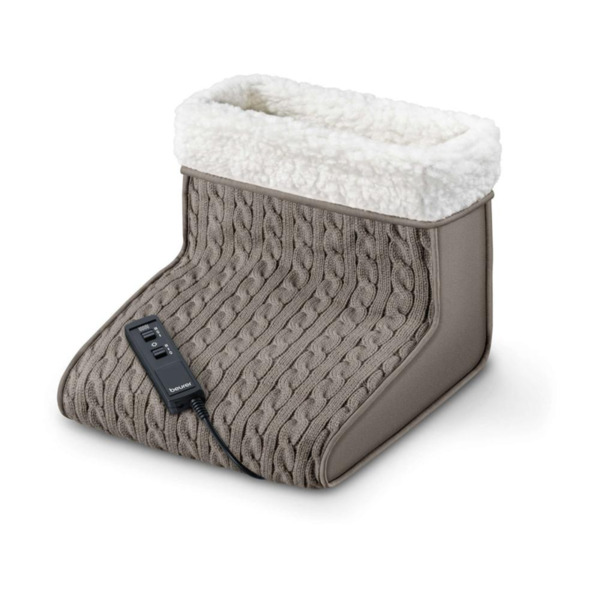 Beurer FWM 45 Massage foot warmer; 2 temperature and massage settings; washeble by hand, 16 Watts; 32(L)x26(B)x26(H)