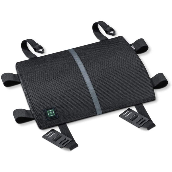 Beurer HK 70 back rest, Illuminated switching stages, Machine-washable at 30°, 3 temperature settings,connection to the mains with spiral cable