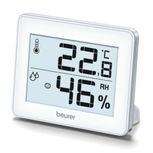 Beurer HM 16 thermo hygrometer; Displays temperature and humidity