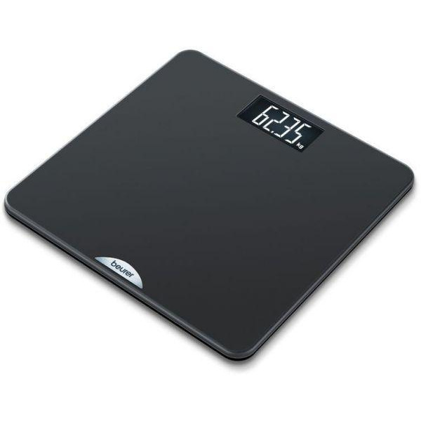 Beurer PS 240 personal bathroom scale; rubber-coated standing surface; 180 kg / 50 g