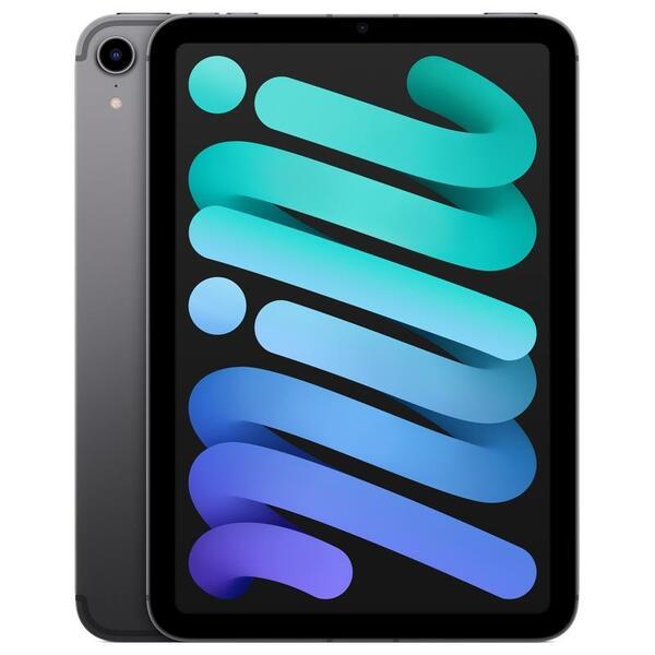 Таблет Apple iPad mini 6 CELL 256GB Space Gray mk8f3 , 256 GB, 4 GB