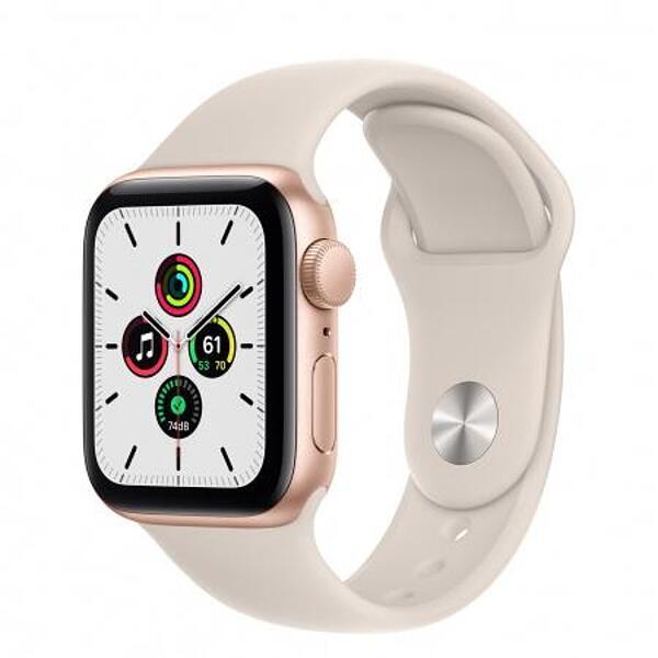 Смарт часовник Apple Watch SE 40mm Gold/Starlight Sport Band mkq03 , 1 , 1.57 , 32 , Apple S5 64-bit Dual Core