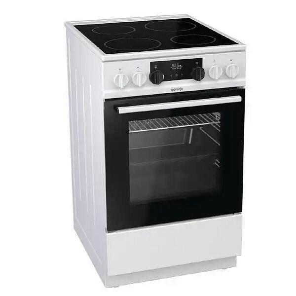 Готварска печка (ток) Gorenje EC535G , Бял , Керамични