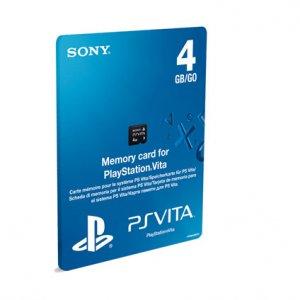 Конзола - аксесоар Sony PS VITA MEMORY CARD 4GB
