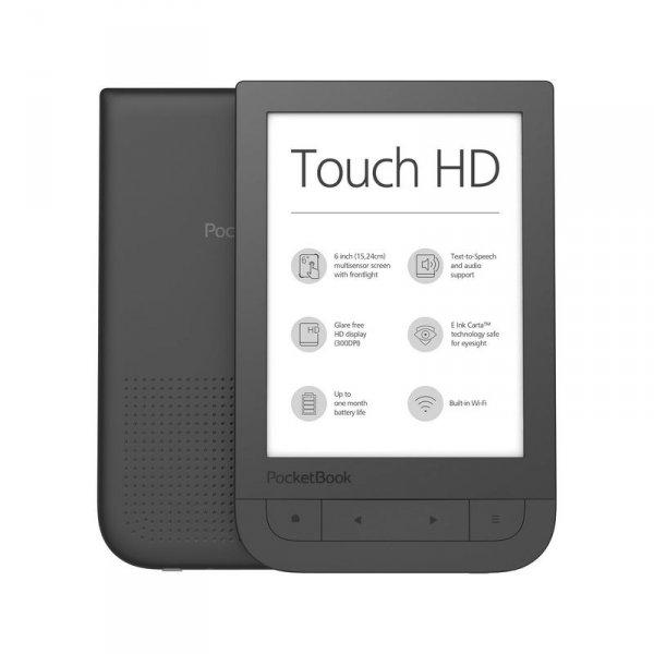 Електронна книга PocketBook 631 TOUCH HD BLACK