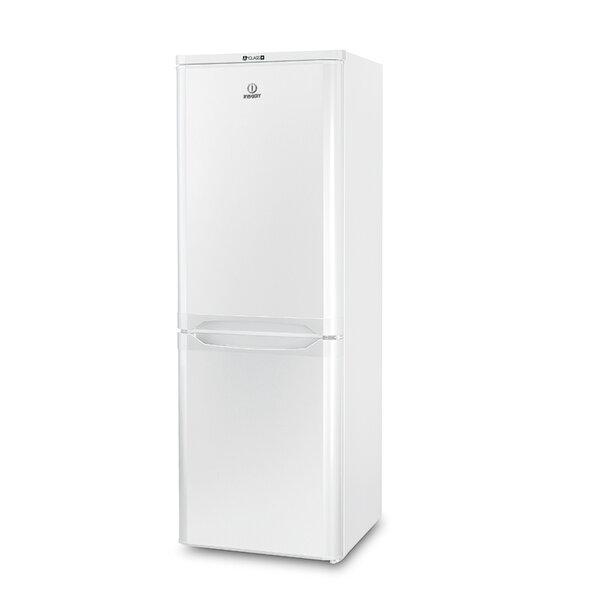 Хладилник с фризер Indesit NCAA 55 , 206 l, F , Бял , Статична