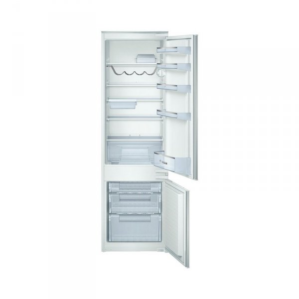 Вграден хладилник с фризер Bosch KIV38X20 , 279 l, A+ , Бял , Статична