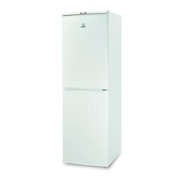Хладилник с фризер Indesit CAA 55 , 235 l, A+ , Бял , Статична