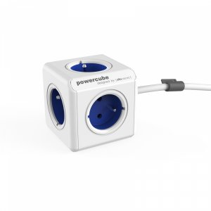 Разклонител Allocacoc POWERCUBE EXTENDED BLUE 5 ГНЕЗДА 1.5M 13