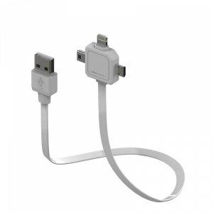 Кабел Allocacoc USB-LIGHTNING/MINI/MICRO USB 9002