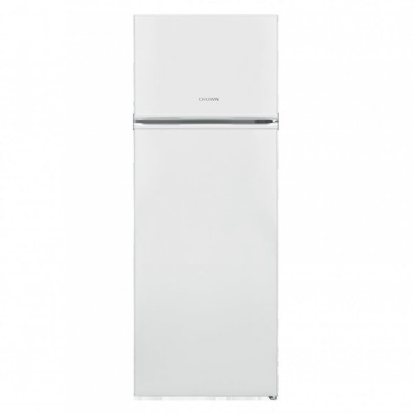 Хладилник с горна камера Crown GN 263 , 213 l, A+ , Бял , Статична