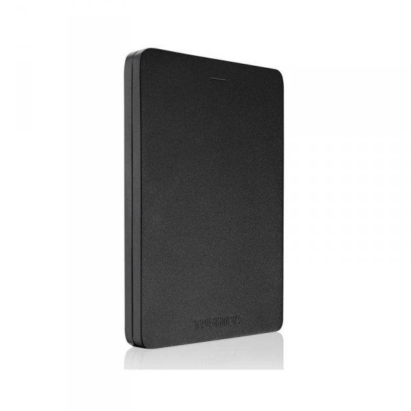 "Външен хард диск Toshiba CANVIO ALU BLACK 1TB 2.5"" HDTH310EK3AA"