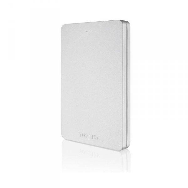 "Външен хард диск Toshiba CANVIO ALU SILVER 1TB 2.5"" HDTH310ES3AA"