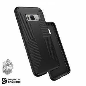 Калъф за смартфон Speck SAMSUNG GALAXY S8 GRIP BLACK 90252-1050***