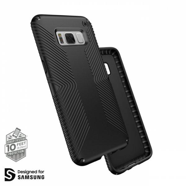 Калъф за смартфон Speck SAMSUNG GALAXY S8 GRIP BLACK 90252-1050
