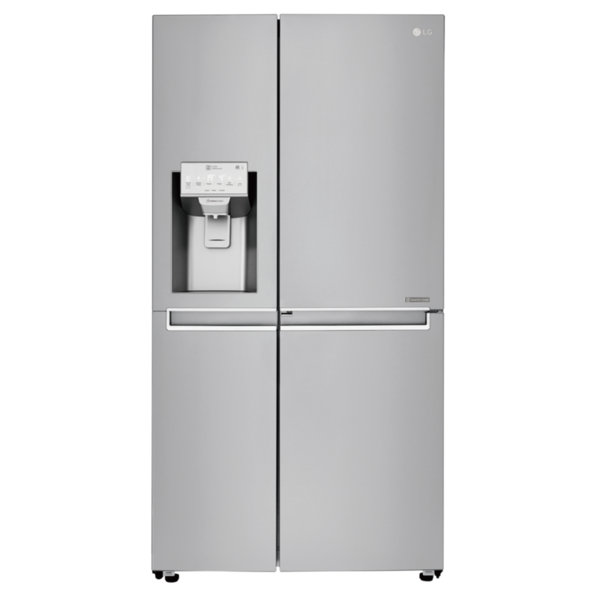 Хладилник с фризер LG GSJ961NEBZ , 625 l, F , No Frost