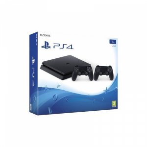 Конзола Sony PS4 1TB SLIM + DS4 V2