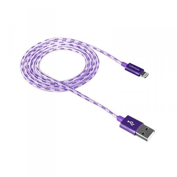 Кабел Canyon CNE-CFI3P LIGHTNING USB