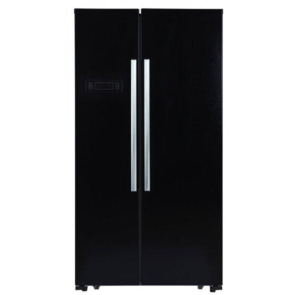 Хладилник с фризер Finlux SBS-959B , 532 l, F , No Frost , Черен
