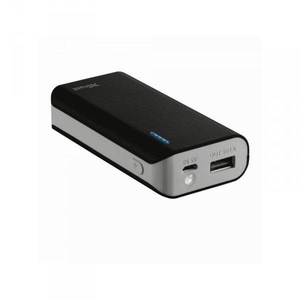 Външна батерия Trust PRIMO 4400 MAH ЧЕРНА