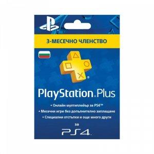Конзола - аксесоар Sony PLAYSTATION PLUS CARD 90 ДНИ