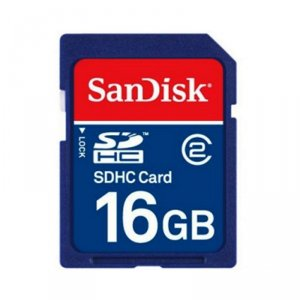 Карта памет SanDisk SD CARD 16 GB SDSDB-016G-B35