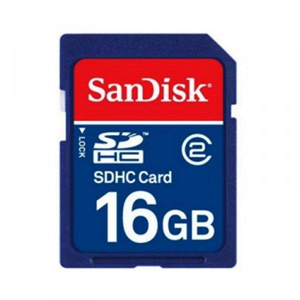 Карта памет SanDisk SD CARD 16 GB SDSDB-016G-B35