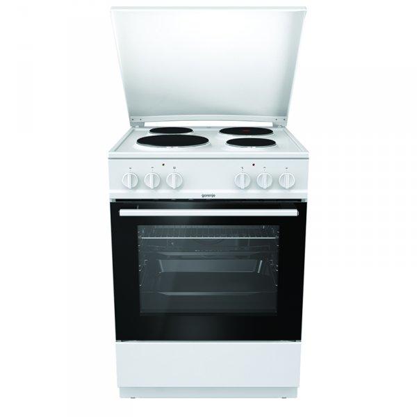 Готварска печка (ток) Gorenje E6141WB , 4 ток , Бял