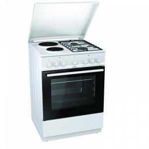 Готварска печка (ток/газ) Gorenje K6241WF , 2 газ 2ток , 600/850/600 ш/в/д mm, 65
