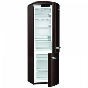 Хладилник с фризер Gorenje ORK 192(CH) CHOCOLATE